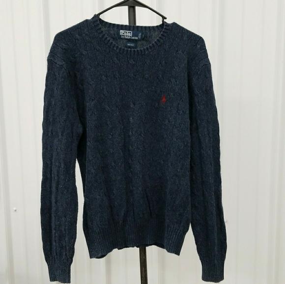 Vintage 80's Ralph Lauren Cable sweater NzzIrwvVc